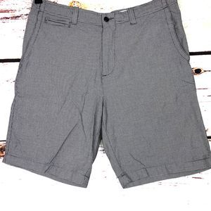 Cremeux Collection Flat Front Bermuda Shorts 34